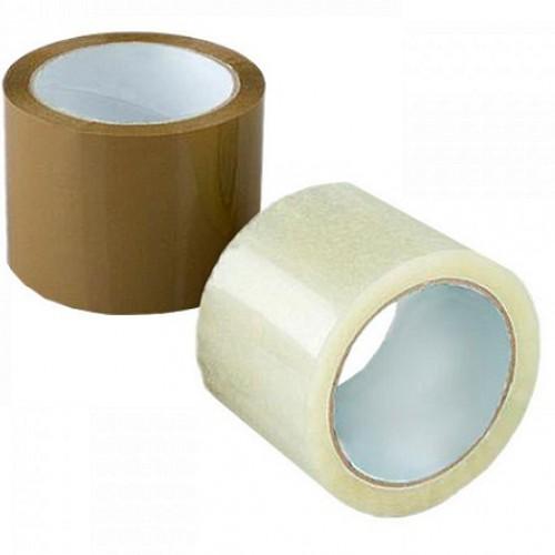 Клейкая лента 72*60/40мкм прозр и тонир