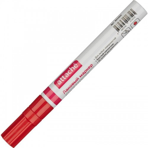 Маркер-лак 4мм красный